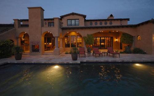 Spa & Pool at Night