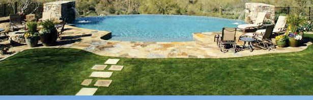 Grassy Pool Deck