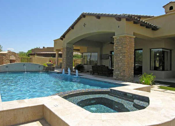 Pool spa swimming pools a website about pools spas for Pool and spa images