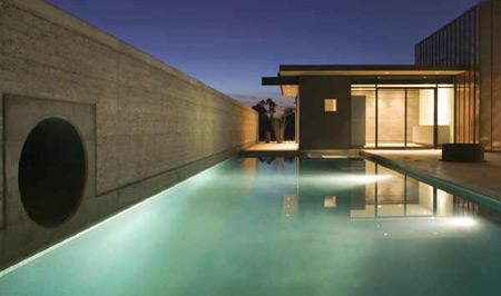 Sleek, Contemporary Pool