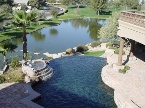 Pool, Spa & Lake