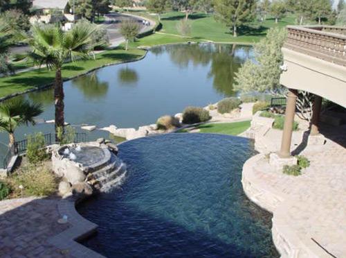 Pool, Spa & Lake