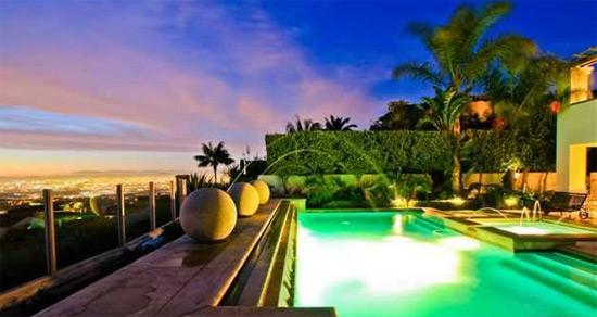 Pool w/ City View